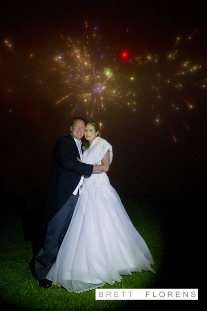 Wedding Outdoor Fireworks